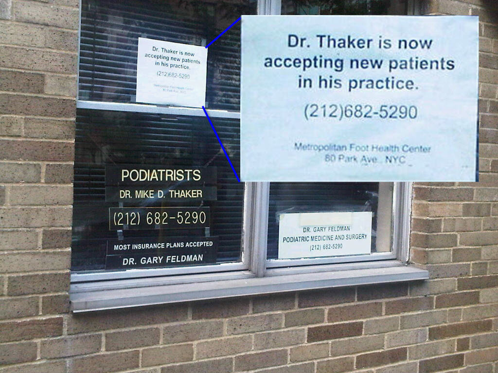 dr thaker accepting patients Dr. Thaker is now accepting new patients