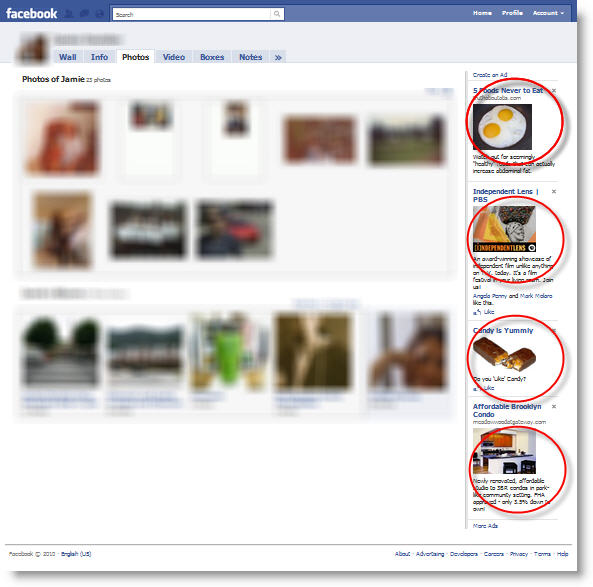 facebook display ads fiasco Not 1, Not 2, Not 3, But 4 Display Ads Per Pageview   Shame on You Facebook