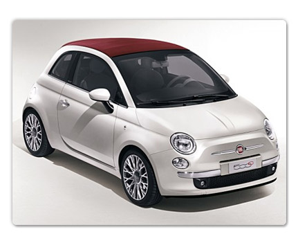 fiat 500c white car1 Nissan sells more than 20,000 Leafs in first year; Fiat, Not So Much