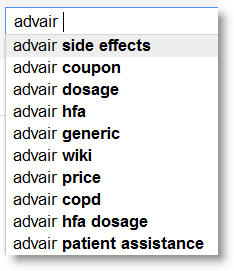 advair side effects Search as Research   Using Search for Continuous Consumer Insights