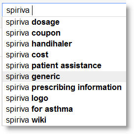 spiriva related search Search as Research   Using Search for Continuous Consumer Insights